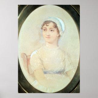 Retrato de Jane Austen Poster