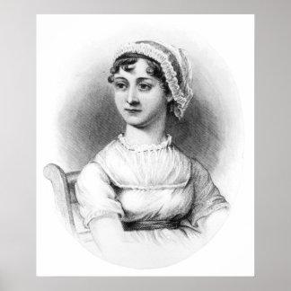 Retrato de Jane Austen Posters