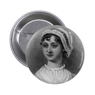 Retrato de Jane Austen Pin Redondo 5 Cm