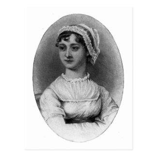 Retrato de Jane Austen Tarjetas Postales