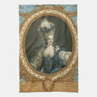Retrato de Janinet de la bella arte de Toallas De Mano