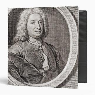 "Retrato de Jean Bernoulli grabado cerca Carpeta 1 1/2"""