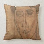 Retrato de Jean Cocteau (1889-1963) 1917 (lápiz Almohada