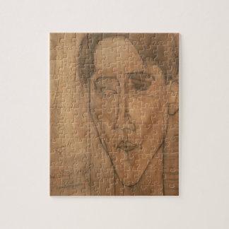 Retrato de Jean Cocteau (1889-1963) 1917 (lápiz Puzzle Con Fotos