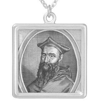 Retrato de Jean du Bellay Colgante Cuadrado