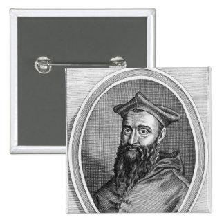 Retrato de Jean du Bellay Pin Cuadrado