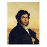 Retrato de Jean-Francois Champollion 1831 Postal