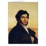 Retrato de Jean-Francois Champollion 1831 Tarjeta De Felicitación