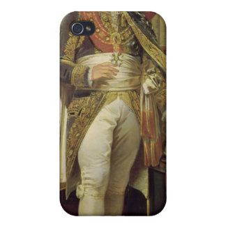 Retrato de Jean-Jacques-Regis de Cambaceres iPhone 4 Fundas