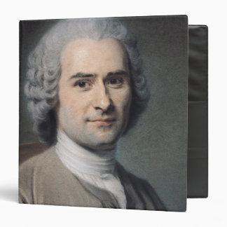 """Retrato de Jean-jacques Rousseau Carpeta 1 1/2"""""""