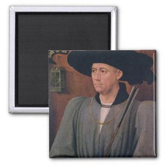 Retrato de Jean Lefevre de Santo-Remy Imán Para Frigorífico
