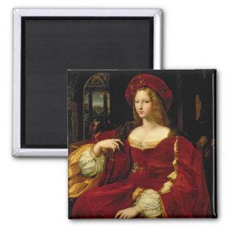 Retrato de Jeanne de la esposa de Aragón (c.1500-7 Imanes Para Frigoríficos