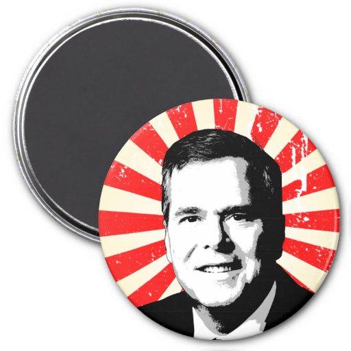 Retrato de Jeb Bush Imán De Frigorifico