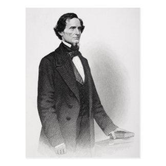 Retrato de Jefferson Davis Tarjetas Postales
