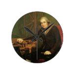Retrato de Jesse Ramsden (1735-1800) (aceite en ca Reloj Redondo Mediano