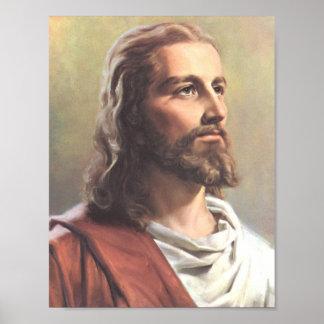 Retrato de Jesús Póster