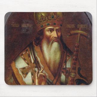 Retrato de Joaquín, patriarca de Moscú Tapetes De Raton