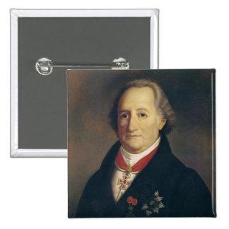 Retrato de Johann Wolfgang von Goethe Pin