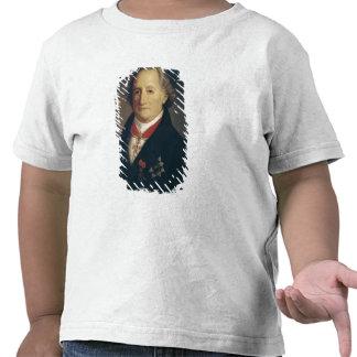 Retrato de Johann Wolfgang von Goethe Camiseta