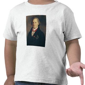 Retrato de Johann Wolfgang von Goethe Camisetas