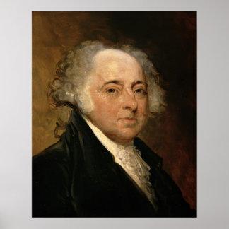 Retrato de John Adams Póster