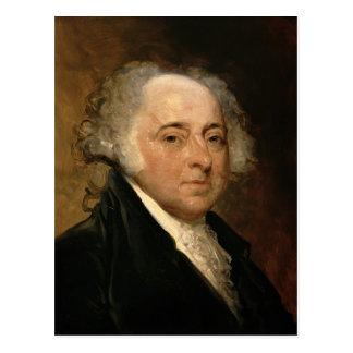 Retrato de John Adams Postal