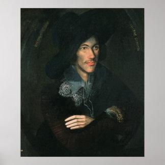 Retrato de John Donne, c.1595 Impresiones