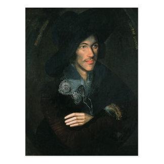 Retrato de John Donne c 1595 Postales
