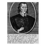 Retrato de John Donne Tarjetas Postales