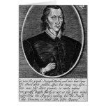 Retrato de John Donne Tarjetón