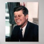 Retrato de John F. Kennedy Whitehouse Poster