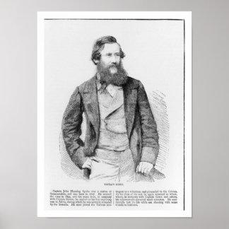 Retrato de John Hanning Speke (1827-64) (engravin Impresiones