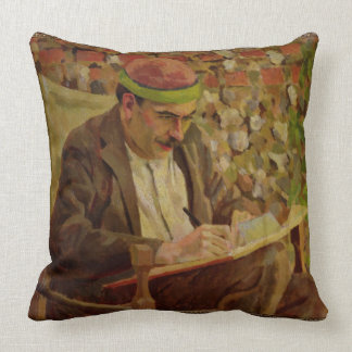Retrato de John Maynard Keynes (1883-1946) (aceite Cojín Decorativo