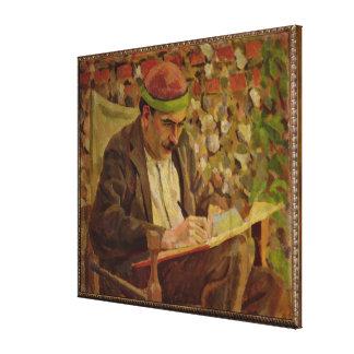 Retrato de John Maynard Keynes (1883-1946) (aceite Impresión En Lona Estirada