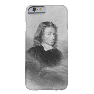 Retrato de John Milton 1608-74 grabado por