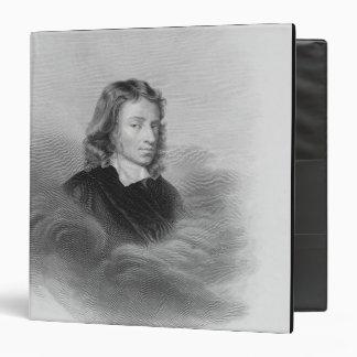 Retrato de John Milton (1608-74) grabado por