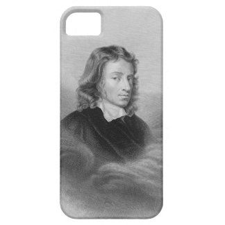 Retrato de John Milton (1608-74) grabado por iPhone 5 Funda