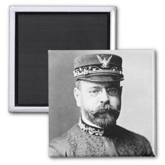 Retrato de John Philip Sousa Imán Cuadrado
