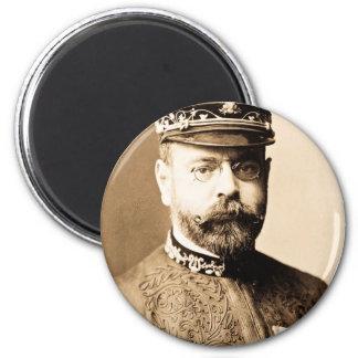 Retrato de John Philip Sousa Imán Redondo 5 Cm