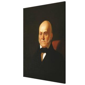 Retrato de JOHN QUINCY ADAMS de George Caleb Bingh Impresión En Lienzo Estirada