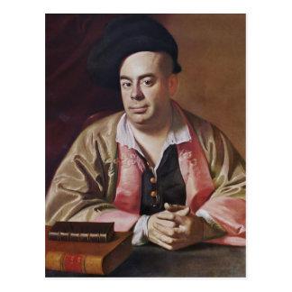Retrato de John Singleton Copley- de Nathaniel Hur Tarjeta Postal