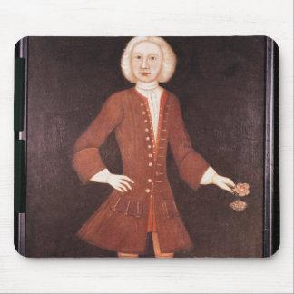 Retrato de Jonatán Bentham, c.1725 Alfombrilla De Ratón