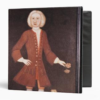 """Retrato de Jonatán Bentham, c.1725 Carpeta 1 1/2"""""""