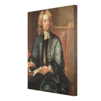 Retrato de Jonathan Swift c.1718 Impresiones En Lona