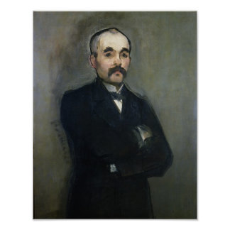 Retrato de Jorte Clemenceau 1879 Posters