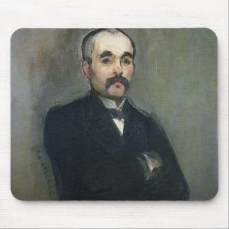 Retrato de Jorte Clemenceau 1879 Alfombrillas De Ratones