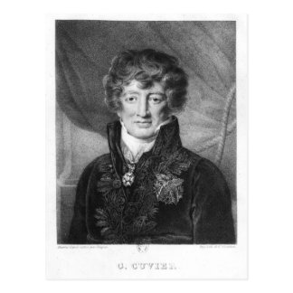 Retrato de Jorte Cuvier Tarjetas Postales
