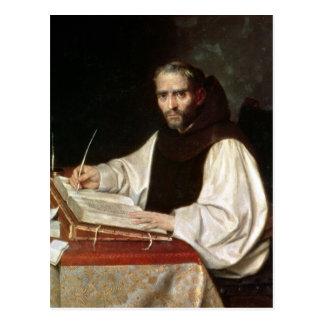 Retrato de Jose de Siguenza, anteriormente y bibli Tarjetas Postales