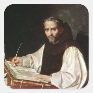 Retrato de Jose de Siguenza, anteriormente y Pegatina Cuadrada