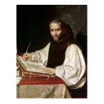 Retrato de Jose de Siguenza, anteriormente y Tarjeta Postal